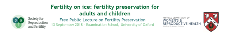 Free Public Lecture on Fertility Preservation