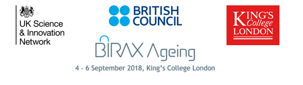 BIRAX Ageing Conference 4-6 September 2018