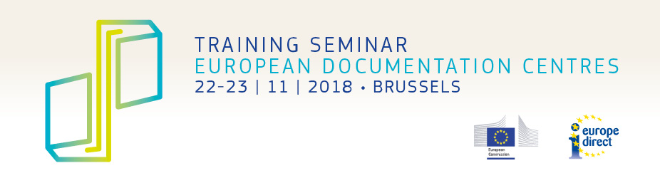 European Documentation Centres Training Seminar 2018
