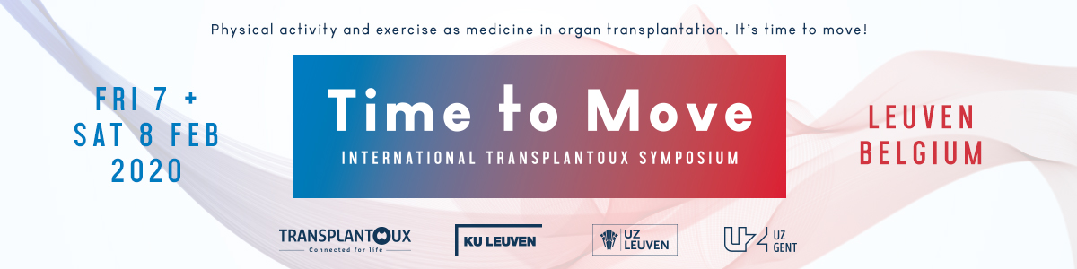 International Transplantoux Symposium: Time to Move 2020