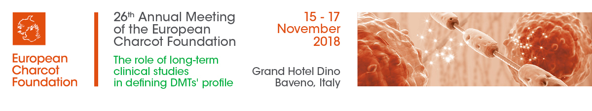 26th Annual Meeting of the European Charcot Foundation, 15 - 17 November 2018, Baveno (IT)