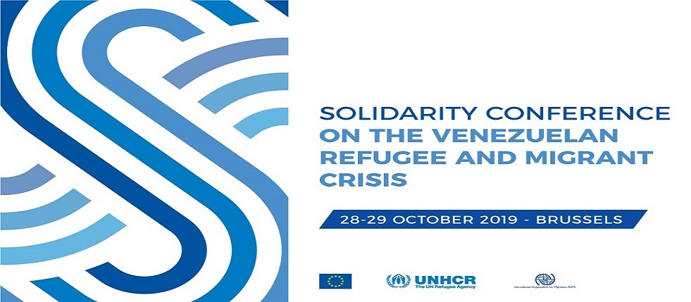 International Solidarity Conference on the Venezuelan Refugee and Migrant crisis - 28-29 October 2019, Brussels PRESS