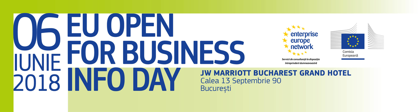 EU Open for Business Info Day - Romania