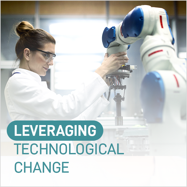 Levering technological change